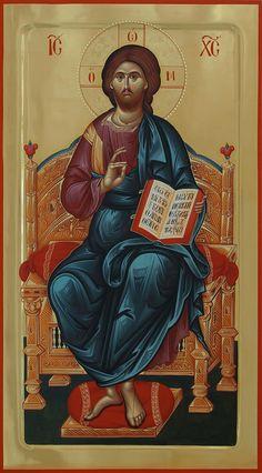 Religious Icons, Religious Art, Christ Pantocrator, Roman Church, Orthodox Icons, Sacred Art, Christian Art, Holy Spirit, Jesus Christ