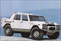 "3k Mile 1990 Lamborghini LM002 ""LM/American"" ($309,900) • Petrolicious"