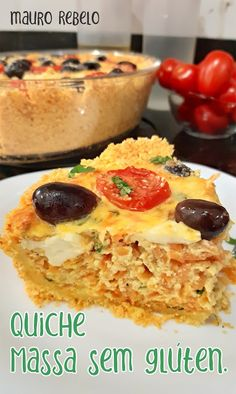 Dairy Free Recipes, My Recipes, Low Carb Recipes, Vegan Recipes, Quiches, Sin Gluten, Lactose Free, Gluten Free Baking, Light Recipes