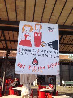One billion rising. Rome. 2014 by rap