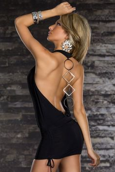 Cheap Black Deep V Neck Backless Dress online - All Products,Sexy Clubwear,Club Dresses Necklines For Dresses, 15 Dresses, Club Dresses, Cheap Dresses, Backless Dresses, Evening Dresses, Wedding Dresses, Sexy Outfits, Trendy Outfits