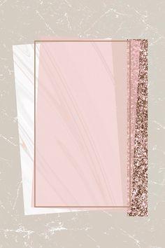 Pink Glitter Background, Flower Background Wallpaper, Flower Backgrounds, Wallpaper Backgrounds, Iphone Wallpaper, Lock Screen Backgrounds, Frame Background, Rose Gold Wallpaper, Framed Wallpaper