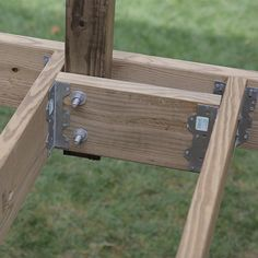 How to build a deck.Add Bracing Behind Posts on the Rim Joist.