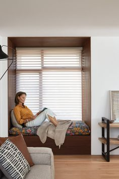 Luxaflex Silhouette Shadings, Sitting Room - My Ideal House