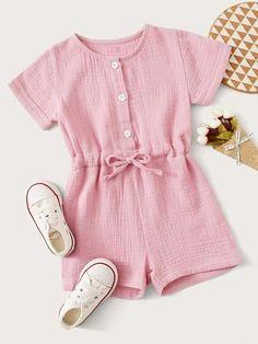Trendy Fashion, Kids Fashion, Fashion Outfits, Girls 4, Little Girls, Short Niña, Toddler Girl, Knots, Kids Outfits