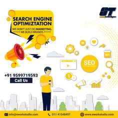 We don't just do marketing we build brands Seo Marketing, Content Marketing, Social Media Marketing, Digital Marketing, Seo Optimization, Reputation Management, App Development, Search Engine, Promotion