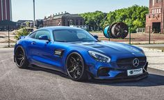 AMG GT Goes Wild! PRIOR DESIGN PD800GT Widebody Aero Kit Includes Ducktail Rear Wing, AMG GT by PRIOR DESIGN