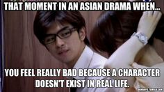 That Asian drama moment...