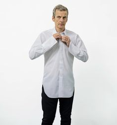 I want to kiss it to death — Peter Capaldi Night Cap... Putting it on...or is...