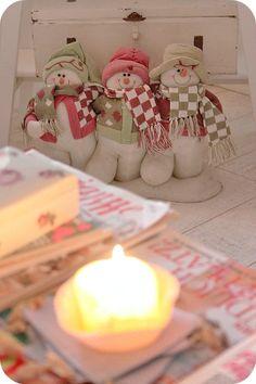 Christmas snowmen decor