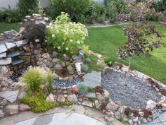 wer einen steingarten anlegen will muss man sich mit dem steingarten look richtig gut vertraut zu machen nur die blanken kanten der massiven steine mssen - Steingarten Hang Anlegen