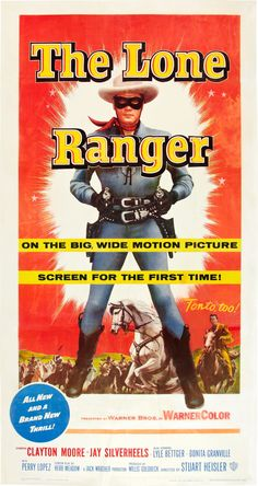 The Lone Ranger 1956 Poster Old Movie Posters, Film Posters, Bonita Granville, The Lone Ranger, The Man From Uncle, Roy Rogers, Western Movies, Le Far West, Series Movies
