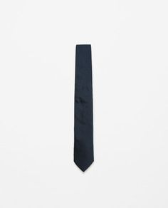 Image 1 of WIDE SILK TIE from Zara