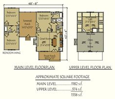 dog trot house floorplans
