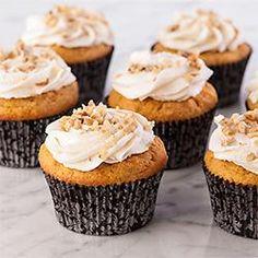 Honey Pumpkin Cupcakes