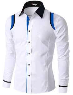 African Wear Styles For Men, African Shirts For Men, African Clothing For Men, Mens Designer Shirts, Designer Suits For Men, Slim Fit Casual Shirts, Stylish Shirts, Nigerian Men Fashion, African Men Fashion