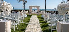 outdoor wedding at the Hotel del Coronado in San Diego, my favorite place in the world