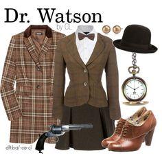 Dr Watson- Sherlock Holmes Love the shoes :)