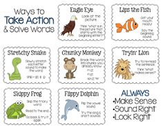 Reading Strategies FREEBIE!