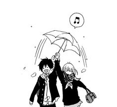 Find images and videos about black and white, couple and anime on We Heart It - the app to get lost in what you love. Manga Anime, Anime Art, Anime Cosplay, Kawaii Anime, Wie Zeichnet Man Manga, Hirunaka No Ryuusei, Familia Anime, Manga Cute, Anime Expressions