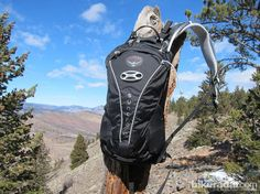 Bikeradar gives 4 stars to the the Syncro 10 hydration pack  by Osprey:  http://www.bikeradar.com/mtb/gear/category/accessories/luggage/backpack/cycling-backpacks/product/review-osprey-syncro-10-pack-12-46066
