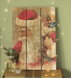 """Gizuan Art Old World Santa Portrait AT6521 