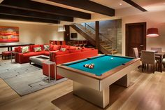 Basement | Lower Level | Game Room | Family Room | Media Room | Bar Area
