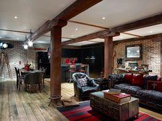 Un loft masculino y muy personal en Londres � A masculine loft in London