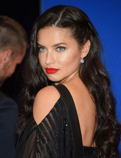 Adriana Lima at the 2015 White House Correspondents' Dinner.