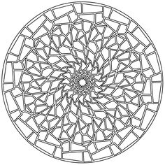 I Really Love Coloring Mandalas Lucky Me Found A Special Mandala Maker Software Its Fun To Create