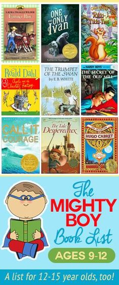Mighty boy reading list ages Raise boys that love to read! GREAT suggestions, plus lists for older boys and girls, too! Books For Boys, I Love Books, Childrens Books, Good Books, Books To Read, Toddler Books, Kids Reading, Teaching Reading, Reading Lists