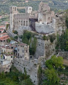 LD+SR, Andrea Bosio · Restoration of Doria Castle in Dolceacqua
