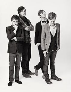 The band, Grizzly Bear, photo by Tom Hines.