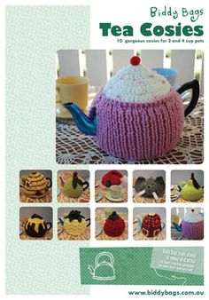 Biddy Bags Tea Cosies Pattern E-Book $15