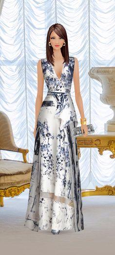 Fashion Game Award Show Dresses, African Dresses For Kids, Fashion Figures, Unique Fashion, Covet Fashion, Barbie Dress, Fashion Sewing, Pretty Dresses, Designer Dresses