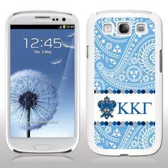 Kappa Kappa Gamma Samsung Galaxy S3 White Plastic Slim Case - Paisley Print Design VictoryStore http://www.amazon.com/dp/B00II6KFL2/ref=cm_sw_r_pi_dp_JOh-vb14XH1PD