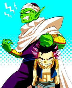 Piccolo and Gotenks                                                                                                                                                                                 More