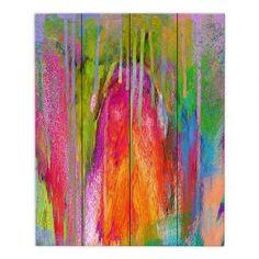 Decorative Wood Plank Wall Art | China Carnella - Garden of Glitter
