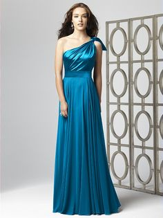 Dessy Collection Style 2861  Cerulean