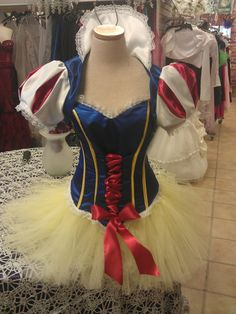 Adult Snow White tutu costume top and cape by parisianbridal on Etsy
