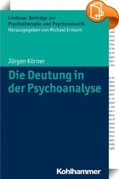 Die Deutung in der Psychoanalyse    ::  Die Deutung nimmt unter allen Interventionen psychodynamischer Psychotherapeuten eine Sonderstellung ein. Ihre Funktion hat sich mit der Fortentwicklung der therapeutischen Methoden stark verändert. Wie und mit welchen Absichten ein Psychotherapeut deutet, hängt vordergründig von seiner theoretischen Orientierung z. B. als Neo-Freudianer, Objektbeziehungstheoretiker, Selbstpsychologe oder Intersubjektivist ab. Hintergründig aber lässt er sich von...