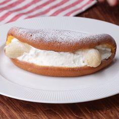 Ideas Breakfast Pancakes Recipe Sweets For 2019 Baked Breakfast Recipes, Breakfast Cake, Best Breakfast, Breakfast Ideas, Banana Breakfast, Pancake Recipes, Doce Banana, Baking Recipes, Dessert Recipes