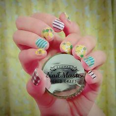 รวมไอเดียลายเล็บหวานๆ สไตล์เกาหลี จาก IG sosam_nails รูปที่ 1 SistaCafe