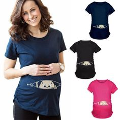Purpless Maternity Pregnancy Top Tunic for Pregnant and Expectant Women Long Sleeve Blouse 6053