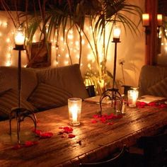 how to make a room romantic for a night