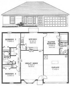 3+Bedroom+House+Floor+Plans | Floor Plan