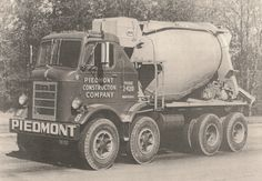 Mack H mixer Heavy Duty Trucks, Heavy Truck, Dump Trucks, Fire Trucks, Old Mack Trucks, Cement Mixer Truck, Concrete Mixers, Busse, Vintage Trucks