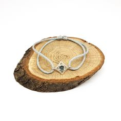 Mayfair, Mini, Bracelet, Shopping, Sliding Knot, Blue Topaz, Delicate Jewelry, Cords, Atelier
