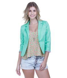 Blazer Feminino Color - Lojas Renner