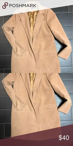 Missguided mid length wool coat Missguided mid length wool coat worn once Missguided Jackets & Coats Trench Coats